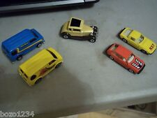 5 DIECAST CARS 1970 MATCHBOX MODEL A FORD BEDFORD RainBow & DASHES MAZDE RX-7 +1