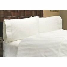 King Size 1 pc Fitted Sheet 1000 Thread Count Egyptian-Cotton Striped Colors