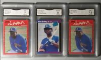 1990 Donruss Ken Griffey Jr #365 MULTIPLE ERROR NO . AFTER INC&DOTS + 89 ROOKIE