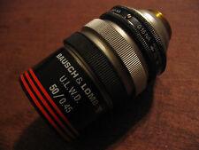 Bausch & Lomb Objective 50x 0.15 NA - 0.45 NA ULWD Microscope (Mitutoyo Olympus