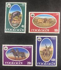 Stamp Vault - Malawi 319-22 MNH Full Set - 1978 - Mint Unused WWF