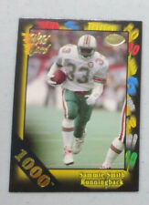1991 Wild Card 1000 Stripe SAMMIE SMITH #32 (Dolphins)