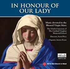 Schola Cantorum - In Honour Of Our Lady [CD]