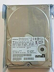 """250 GB Ide Hitachi Deskstar HDT722525DLAT80 Pata 7200RPM 8MB 3,5 """" Hard Drive"""
