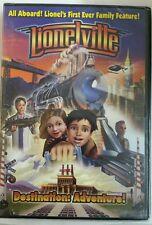 LIONEL LIONELVILLE DESTINATION: ADVENTURE DVD movie train polar,FREE SHIPPING