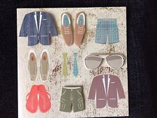 Birthday Card To a Man Who is Always in Style Fashionable Cool Sunglasses NEW