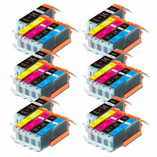 30P NEW Printer Ink Set for Canon PGI-250 CLI-251 Pixma MG6620 MX922 MX722
