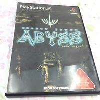 USED PS2 PlayStation 2 Shadow Tower Abyss 81066 JAPAN IMPORT
