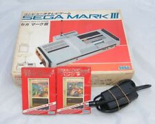 SEGA MARK III / EN BOITE & NOTICE + ASTRO FLASH + HANG ON / 1985 /
