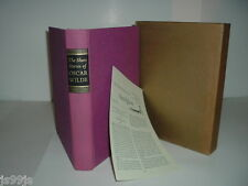 THE SHORT STORIES OF OSCAR WILDE 1968 Heritage Press Edition
