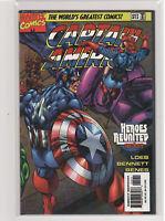 CAPTAIN AMERICA (Volume 2) #12 James Robinson Bucky Falcon Heroes Reborn 9.6