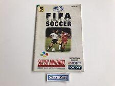 Notice - Fifa International Soccer - Super Nintendo SNES - PAL UKV