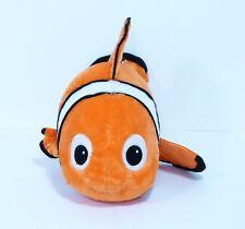 "DISNEY STORE Exclusive 18"" Finding Nemo Clown Fish Plush Bean Bag Stuffed Animal"