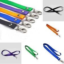 AU_ KM_ Necklace Key chain Lanyard ID Badge Holders Purple/Blue/Orange/Green Pea