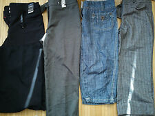 4x NICE NEXT new used bundle ladies womens  3/4 shorts trousers size 8(1.1)
