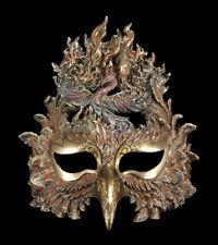 Venezianische Maske - Phönix erhebt sich aus Feuer - Wandmaske Veronese Karneval