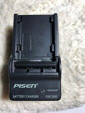 Pisen Charger for PANASONIC CGR-D08S CGR-D16S CGR-D28S CGR-D120 NV-DS15.US Sell