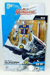 "Gundam Universe RX-78-2 Action Figure Mobile Suit Gundam 6"" Tamashii Nations"