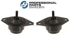 Saab 900 Set pair of 2 Lower Driver & Passenger Engine Hydraulic Motor Mounts