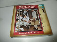 Buffalo Saturday Evening Post Norman Rockwell 1000 Piece Puzzle The Rookie