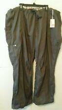 Koi Lindsey Womens Plus Size 5X Regular Steele Gray Scrub Pants Style# 701 Nwt
