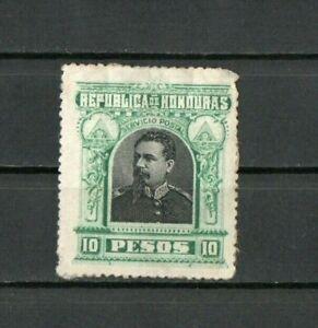 [A089] Honduras 31/7/1891 President Luis Bogran 10P used.