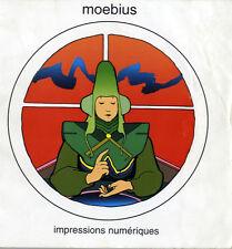 MOEBIUS - GIRAUD  RARISSIME TIRAGE LIMITÉ IMPRESSIONS NUMERIQUES - XEROX 2000