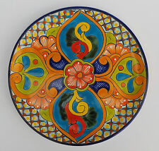 Mexican Pottery Decorative Wall Decor Dinner Plate 11 1 2 Diameter