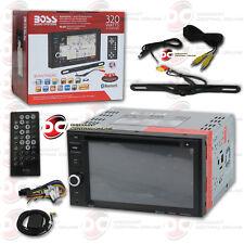 "Boss Bvnv9382Rc 6.2"" Lcd Dvd Navigation Bluetooth Stereo W/ Licenseplate Camera"