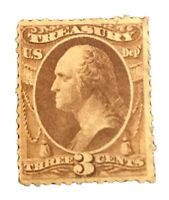 US Official Stamps Collection Scott#O74 3c Unused H OG CV $ 110