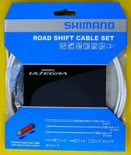 Shimano Ultegra 6800 Road Polymer coated Shift Cable Housing Set, White