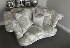DFS Moray Cuddler Sofa Concerto Floral Mink Fabric *immaculate*