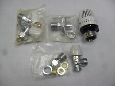 Siemens TRV Thermostatic Radiator Valve Pack With Lockshield And Drain Off 10/15