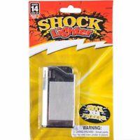2 SHOCK LIGHTERS Shocking JOKE GAG MAGIC TRICK PRANK