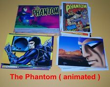 The PHANTOM -  complete trading card set - Animated