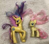 Lot of 2 My Little Pony Toy Horse + Unicorn