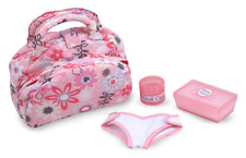 Melissa & Doug Mine to Love Doll Diaper Changing Set With Bag, Wipes, Accessorie