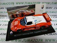 MAS26S voiture 1/43 LEO models  MASERATI MC12 GT1 Vallelunga 2006 Capellarri