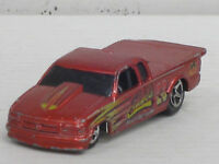 Pro Stock Chevy S10 Nr.23 in rot mit Dekorstreifen, ohne OVP, Hot Wheels, 1:64