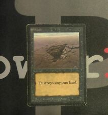 1 Sinkhole - Beta MtG Magic Black Common old school 93/94 #7912