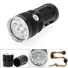 30000LM 12 x CREE XM-L T6 SKYRAY LED Hunting Flashlight 18650 5 Modes Torch Lamp