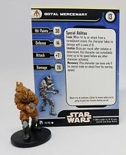 Gotal Mercenary, Star Wars Miniatures, Legacy of the Force #44/60