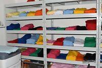 200 x Marken T-Shirt UNISEX neutral Restposten Posten Stk. 1,25 € viele Größen
