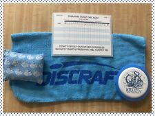 Disc Golf Accessory Lot- NEW Birdie Bag-Towel-Stash Mini & Reusable Score Card