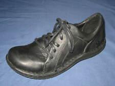 BORN Marisella Leather Oxford Lace Up Comfort Shoes Women's size 9.5 M/W Black