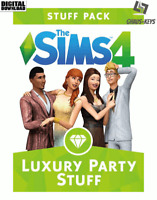 The Sims 4 Luxury Party Stuff Origin Download Key Digital Code [DE] [EU] PC