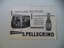 advertising Pubblicità 1960 LIMONATA S. SAN PELLEGRINO