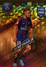 PANINI ADRENALYN XL FIFA 365 2018 LIMITED EDITION NEYMAR PARIS SAINT GERMAIN