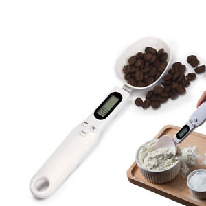 Digital Measuring Spoons with Scale for Kitchen Scale Tools LCD Display Scoop