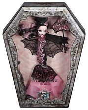 """MONSTER HIGH Draculaura 12"""" Collector Doll LACE RootedLash NEW W/SHIPPER AMAZON"""